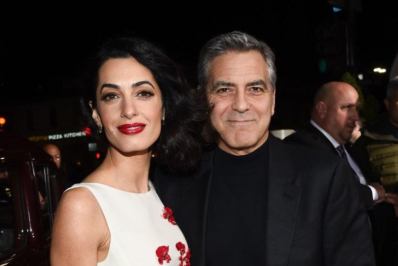 FOTOD | Kaunis ja tütarlapselik Amal Clooney säras abikaasa käevangus