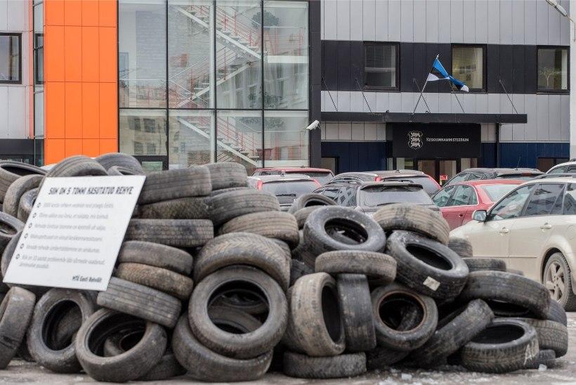 Eesti Energia hakkab katsetama vanade rehvide kasutamist õlitööstuses