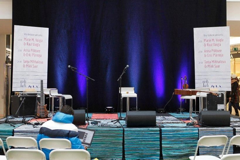 GALERII | Viru Keskuses musitseerisid armastatud muusikute duod