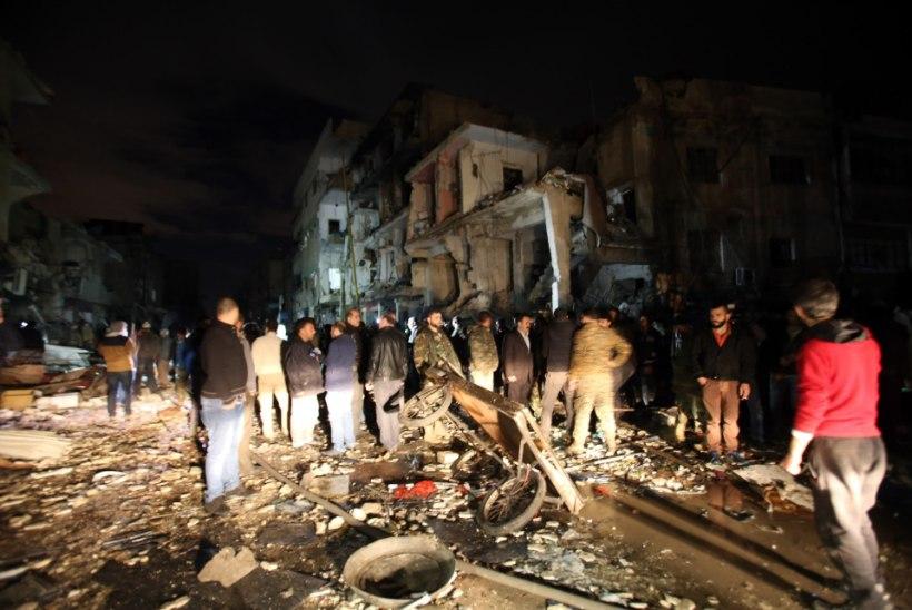 Süürias hukkus Islamiriigi pommirünnakuis 140 inimest