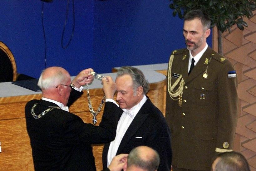 """Lennart Meri: """"Esimene aumärk tuleb anda Ernst Jaaksonile ja teine… Arnold Rüütlile"""""""