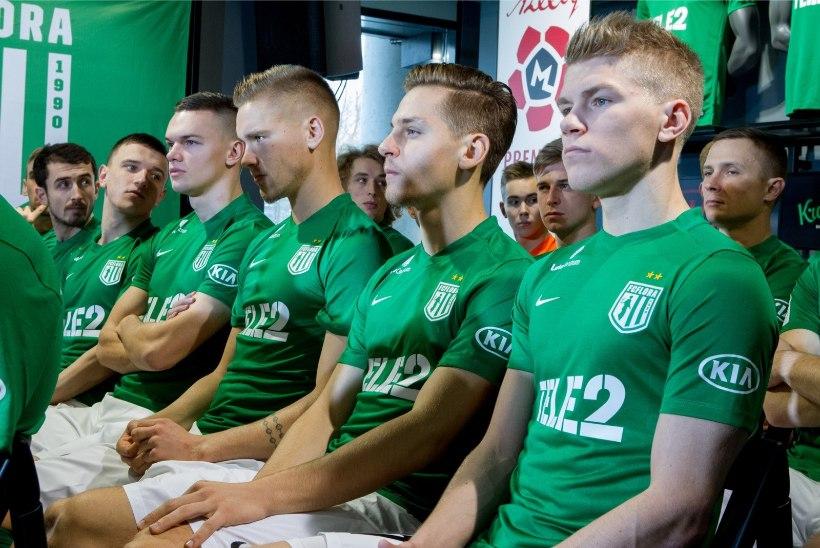 GALERII | Uuenenud ilmega FC Flora esitles meeskonda