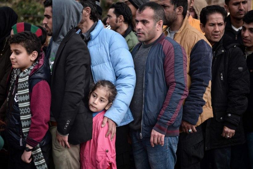 Põgenike ränne Euroopasse kestab endise hooga