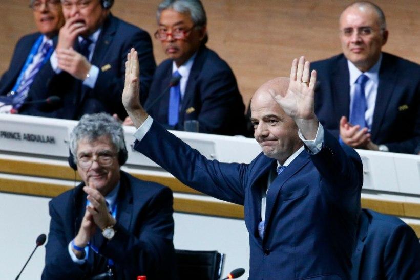 FIFA presidendiks valiti Sepp Blatteri kloon?
