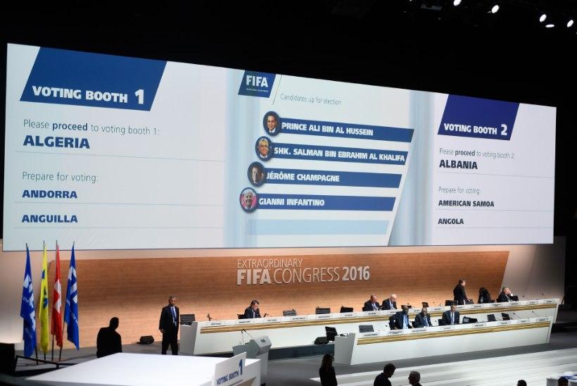 FIFA viis läbi mitu olulist muudatust enne uue presidendi valimist