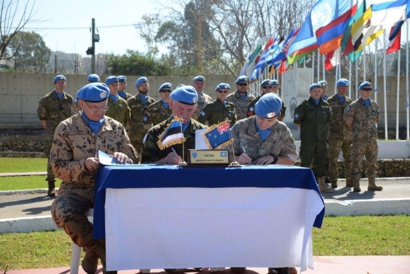 Eesti ohvitser juhib ÜRO Liibanoni vaatlusgruppi