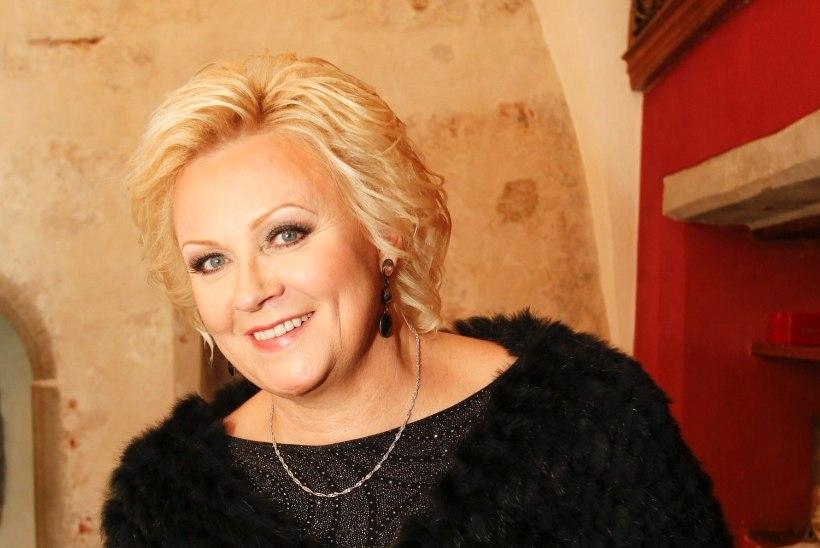 Anne Veski sünnipäevahommik hakkas lumelükkamisega