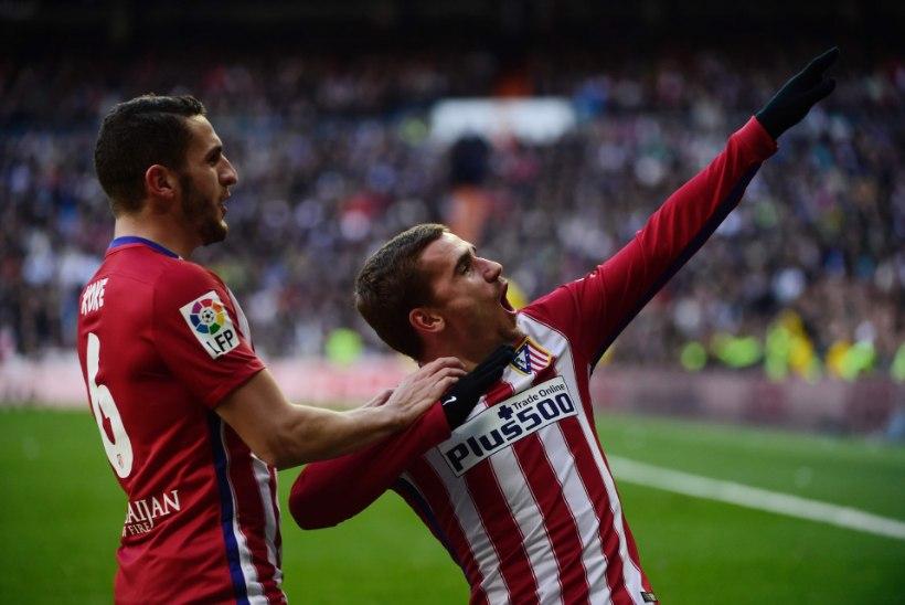 Madridi Atletico alistas derbis Madridi Reali