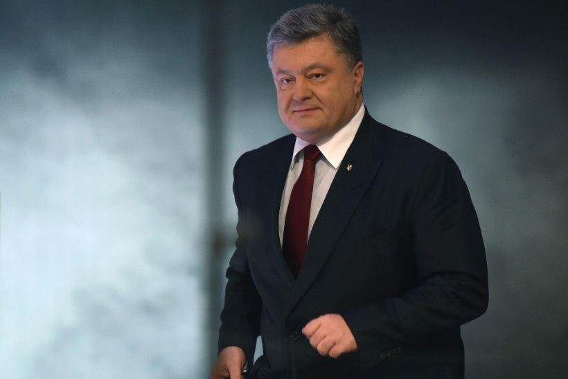 Porošenko: avaliku sõja oht on kasvanud