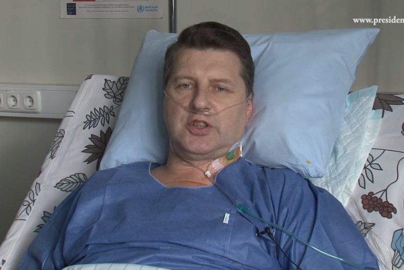 VIDEO | Läti president rääkis haigevoodist rahvaga