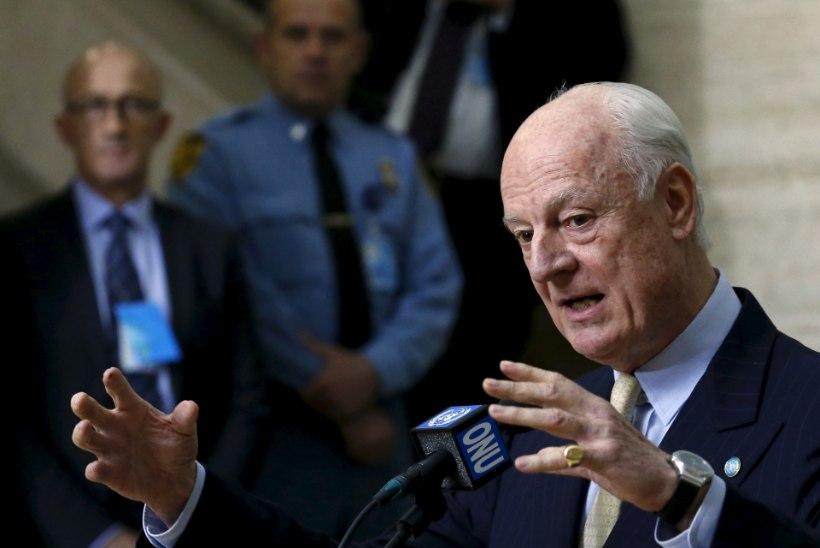 Valitsusvägede enneolematu pealetung Süürias ähvardab nurjata läbirääkimised