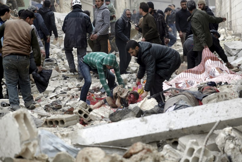 Süüria õudustel pole lõppu