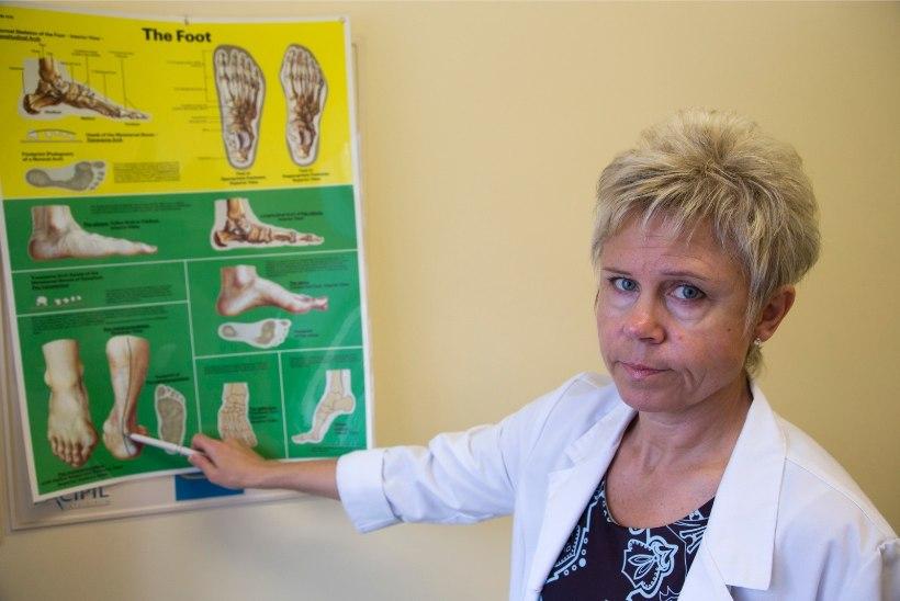 Kõnnianalüüs paljastab tallad ja mured