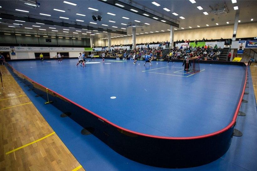 GALERII   Saalihoki MM-valikturniiril viskas Eesti teist päeva järjest 9 väravat