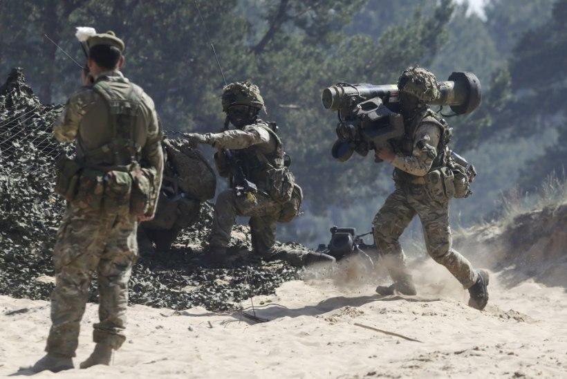 Britid valmistuvad võimalikuks Venemaa ja NATO konfliktiks