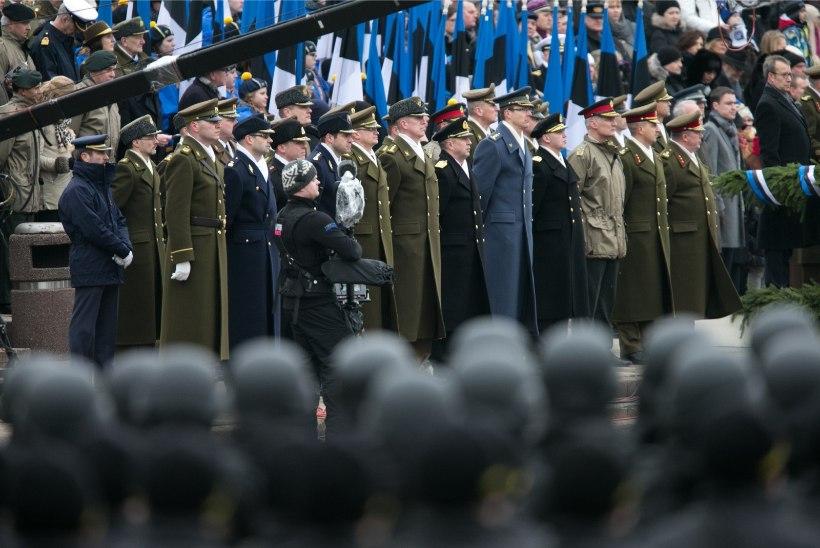 Vabariigi 98. aastapäeva paraad toimub Tallinnas