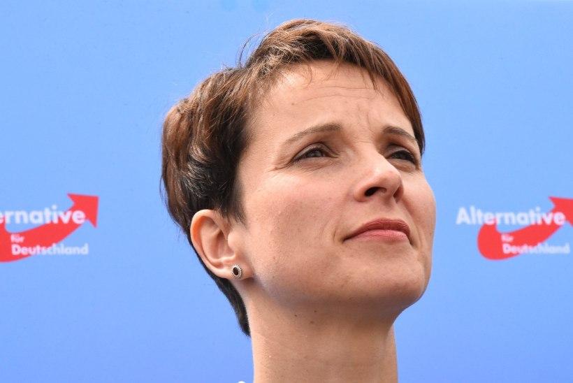 Politseil pagulasi tulistada soovitanud Saksa poliitikul keelati Augsburgi raekojas kõnepidamine