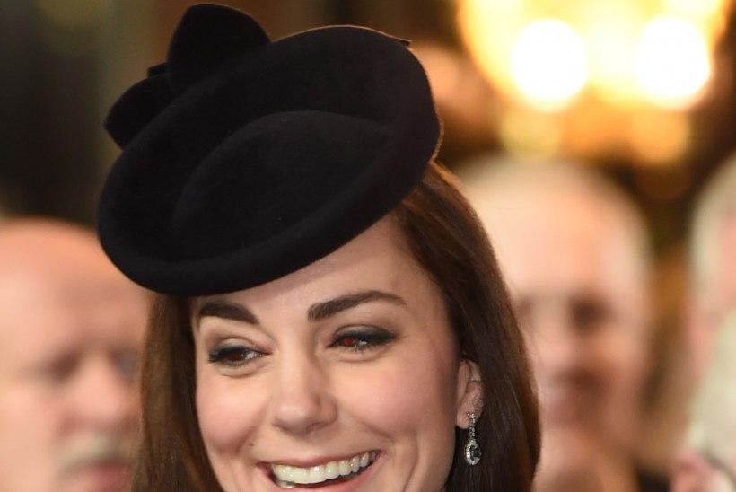 Hertsoginna Catherine on kulmude kujundamisega liiale läinud?