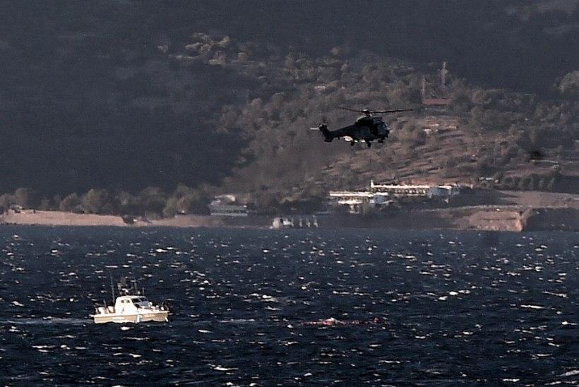 Hoolimata tormisest merest jätkub migrantide sissevool Kreekasse