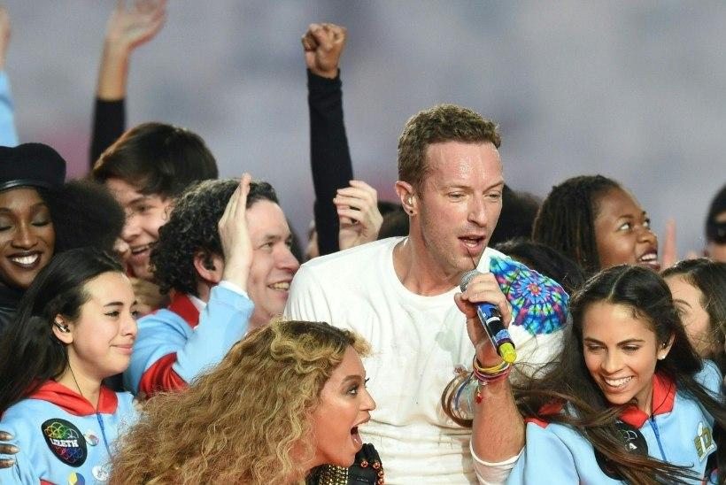 VIDEO JA FOTOD | Selline oli Coldplay, Bruno Marsi ja Beyoncé etteaste Super Bowlil