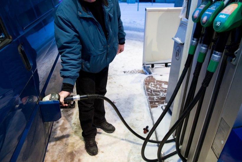 AKTSIISITÕUSU JÄREL: kütus kallines prognoositust rohkem