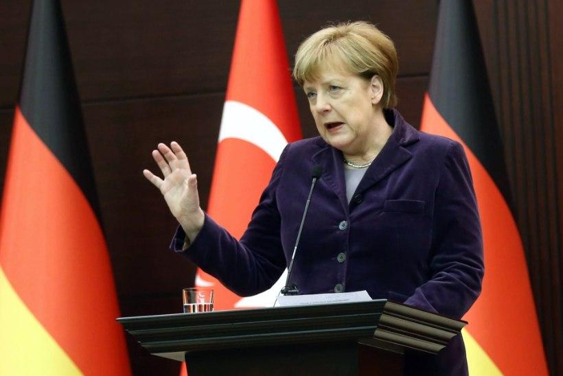 Angela Merkel palub NATO-lt abi
