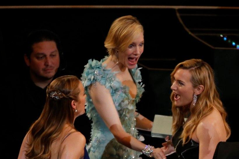 Kas Kate Winslet paljastas kolleegidele lapseootuse?!