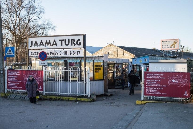 Balti jaama turu lammutustööde käigus leiti vana lõhkekeha