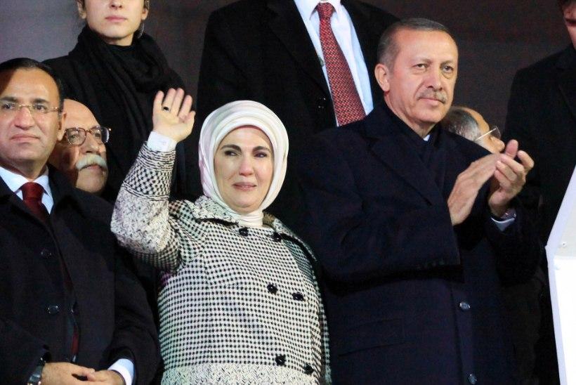 Türgi presidendi naine kiitis haaremit