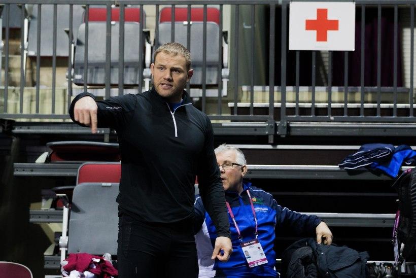 GALERII | Heiki Nabi viimane trenn Riias enne homset võitlust EM-medali nimel