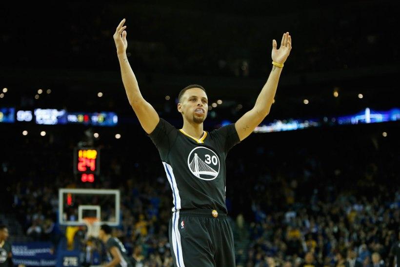 Warriors vajas NBA ühe nõrgema tiimi vastu Curryy ja raju lõpuveerandit