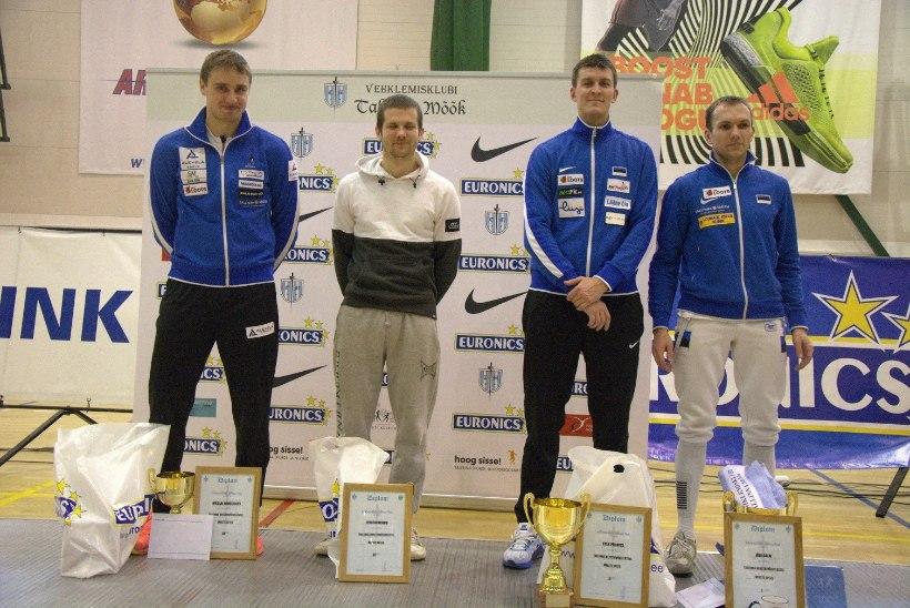 Priinits andis GP-etapi eel Novosjolovile tormihoiatuse, meistriteks tulid Kuusk ja Salm