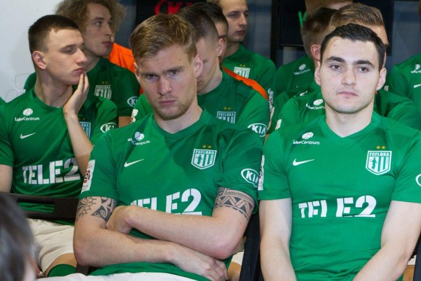 Pehrsson kutsus koondisesse 9 FC Flora jalgpallurit