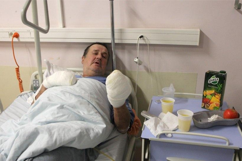 Haiglast lahkunud mehe elu päästeti