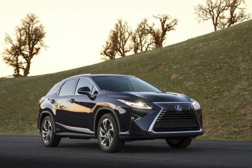 FOTOD | Proovisõit - uus Lexus RX