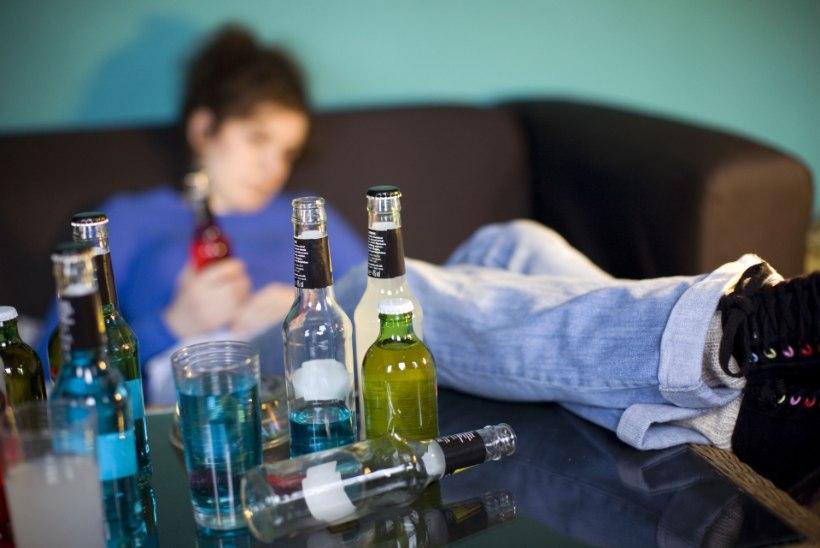 Politsei trahvis 18 purjus last