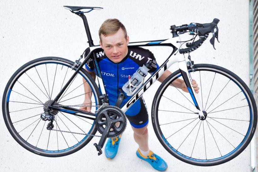 Eesti profijalgrattur ei kasvata tavalisel trennipäeval lolli liha