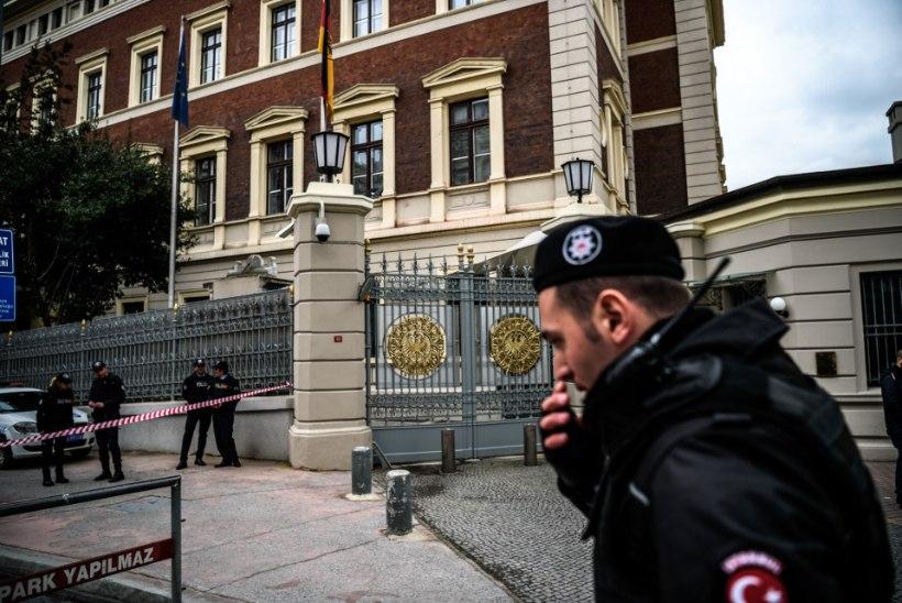 Terroriohu tõttu suleti Saksa esindused