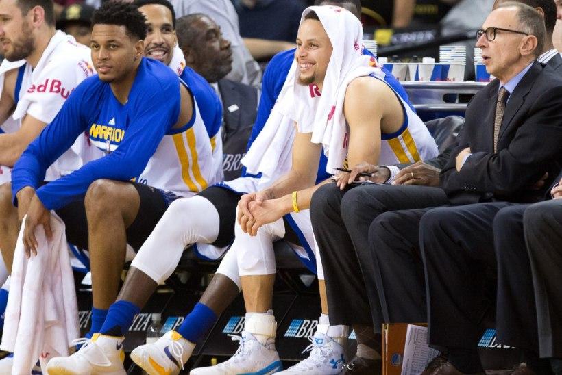 VIDEO | Warriors astus taas sammu Bullsi rekordi ületamise suunas