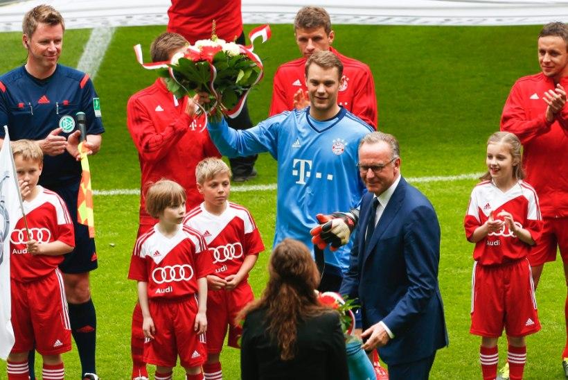 Bayerni tegevdirektor: mul on kõrini, kuidas saatus Meistrite liigas nii suurt rolli mängib!