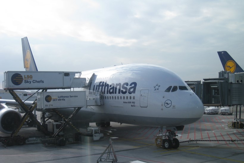 Lufthansa kasvatas võimsalt kasumit