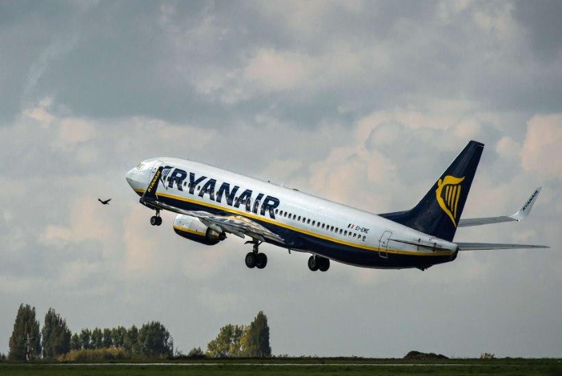 Ryanairi Düsseldorfi-Tallinna lend maandus rikke pärast hoopis Stockholmis