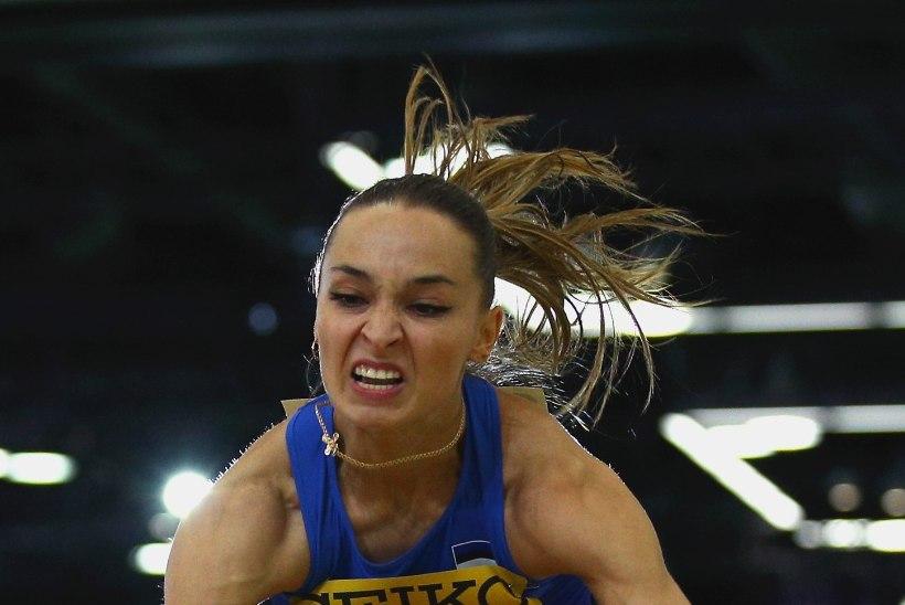 GALERII | Kuueaastase vaheaja järel sise-MMil võistelnud Ksenija Balta sai kõrgetasemelisel võistlusel seitsmenda koha