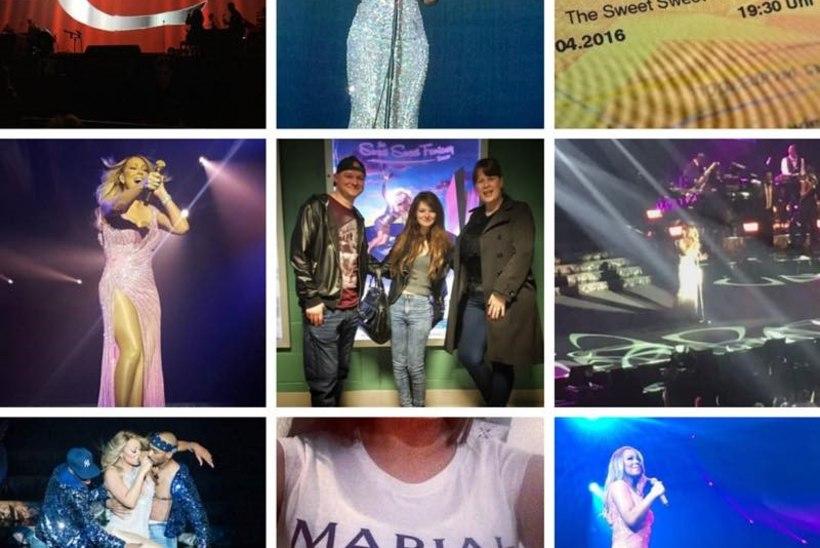 DIIVA TULEB KA EESTISSE! Mariah Carey annab üle pika aja jälle Euroopas kontserte.