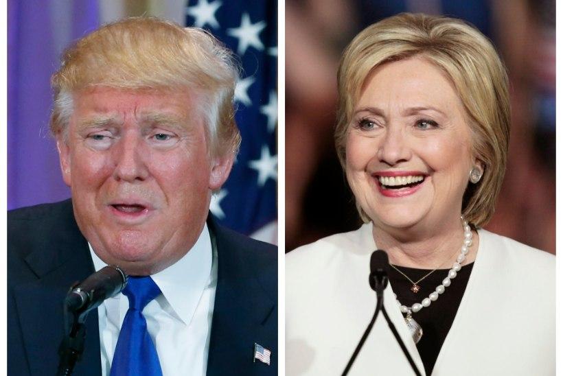 USA presidendivalimiste eelvalimised ehk superteisipäev: võidukad olid Trump ja Clinton
