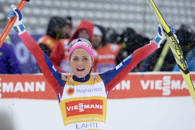 Peatamatu Johaug jõudis Björgeni rekordi lävele