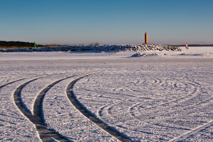 Homsest on osaliselt lubatud väljumine Peipsi järve jääle