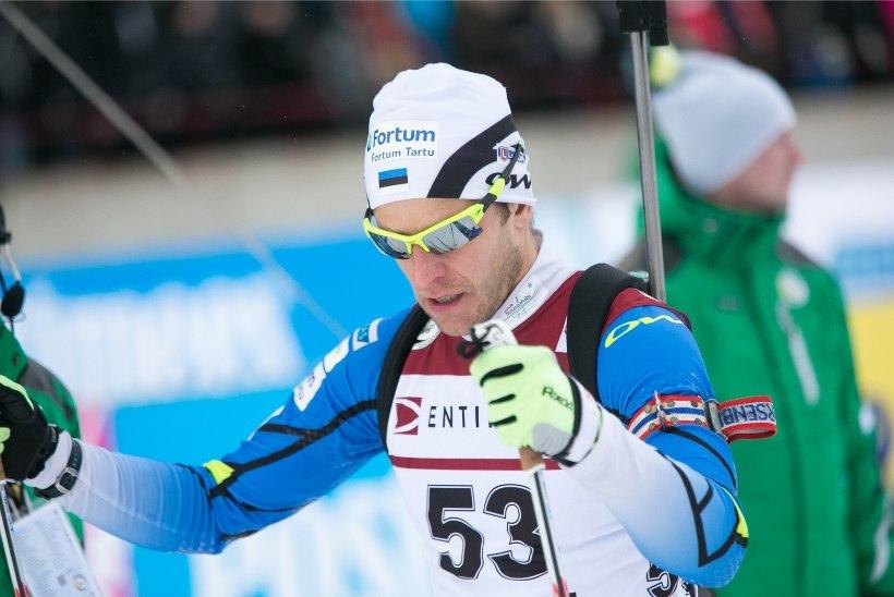 Eesti meistrid ühisstardiga sõidus on Lessing ja Gaim
