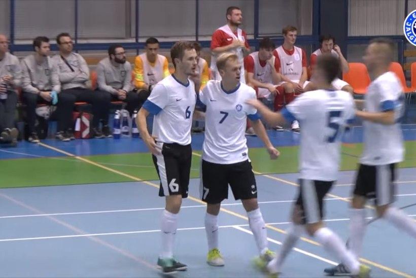 VIDEO | VAATA, NAUDI JA HÄÄLETA! Saalijalgpallikoondis otsib ilusaimat väravat