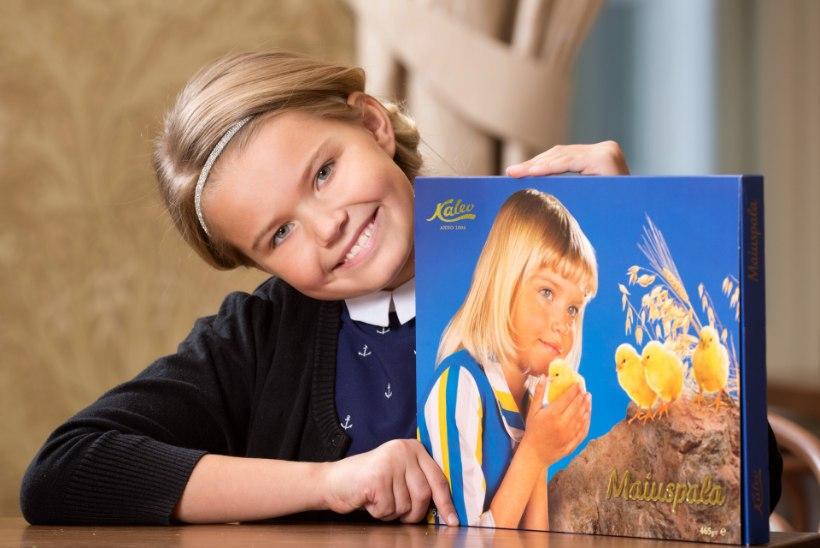 MAIUSPALA KAANETÜDRUKU EMA: Sonja pildiga kommikarp on meie pere visiitkaart